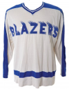 Oklahoma City Blazers 1970s Replica Hockey Jersey