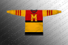 Minneapolis Millers Hockey Jersey 1940-41 Replica Road Jersey