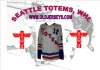 Seattle Totems 1950s  Hockey Jersey