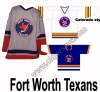 Fort Worth Texans Hockey Jersey