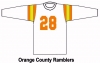 Orange County Ramblers Football Jersey