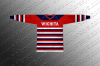 Wichita Skyhawks 1936-38 Replica Hockey Jersey